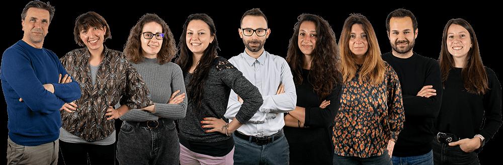 Team di Isola di Comunicazione